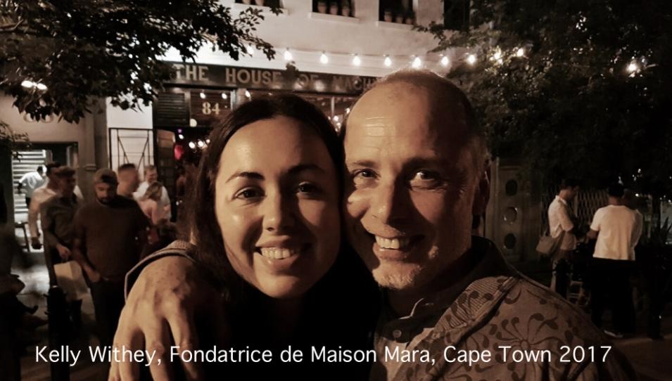 Kelly Withey, Fondatrice de MAISON MARA, Cape Town, 2017