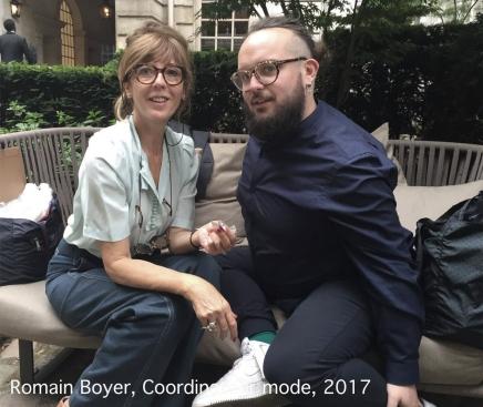 Romain Boyer, Coordinateur Mode, 2016