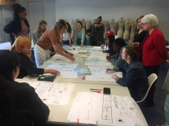 Training, fashion design, FIDM, Musée de la mode Paris, Fall 2017